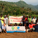 Students from Annobon and Malabo meet on Annobon Island to begin their PV training made possible my MAECI SOLAR