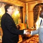 pres with ambassador