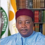 The President of Niger, Mahamadou Issoufou